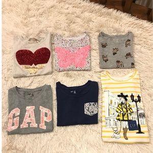 Little girl Gap T-Shirts